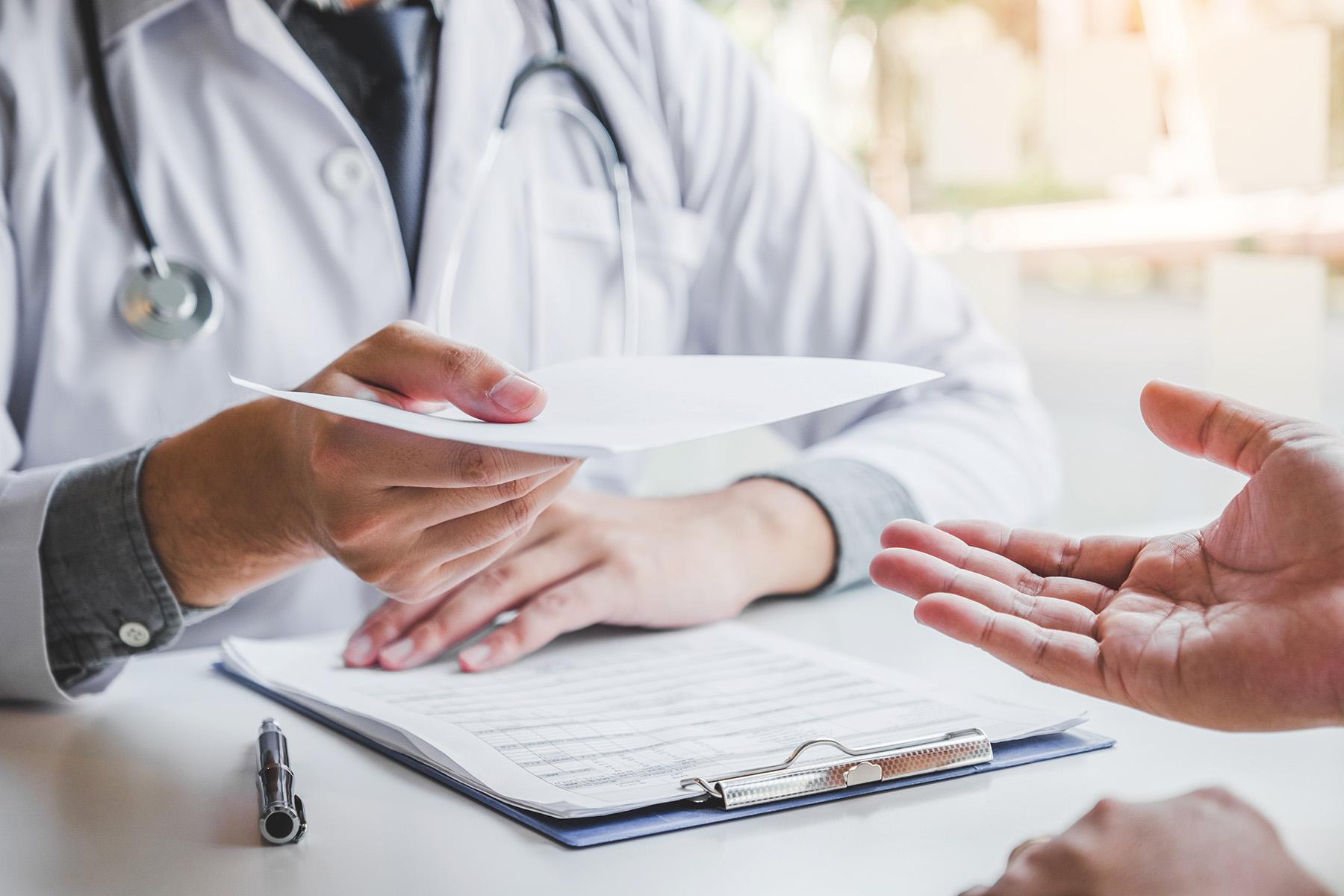 Berufsunfähigkeit beim Arzt, Feststellung