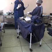 OP-Saal in Sambia