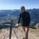 Mareike in den Bergen