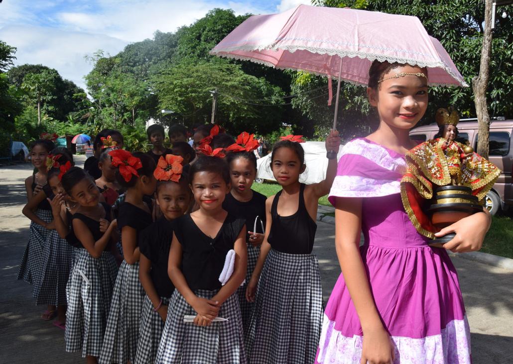 Straßenfest während des weltwärts Freiwilligendienst